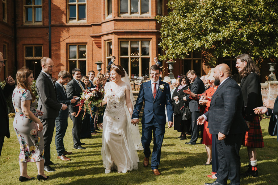 Mark & Philippa's joyful Holmewood Hall wedding, with Grace Elizabeth (23)