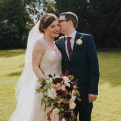 Mark & Philippa's joyful Holmewood Hall wedding, with Grace Elizabeth
