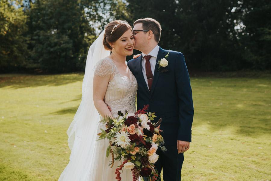 Mark & Philippa's joyful Holmewood Hall wedding, with Grace Elizabeth (24)