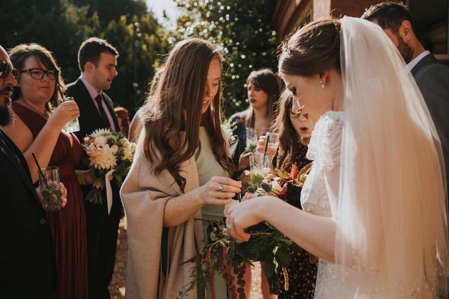 Mark & Philippa's joyful Holmewood Hall wedding, with Grace Elizabeth (25)