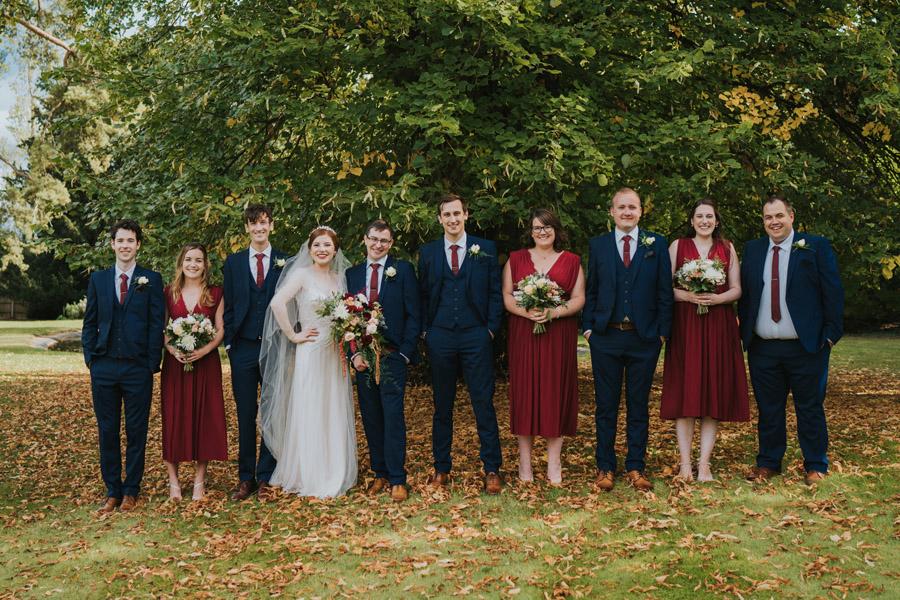 Mark & Philippa's joyful Holmewood Hall wedding, with Grace Elizabeth (26)