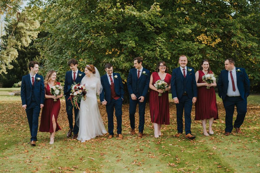 Mark & Philippa's joyful Holmewood Hall wedding, with Grace Elizabeth (27)