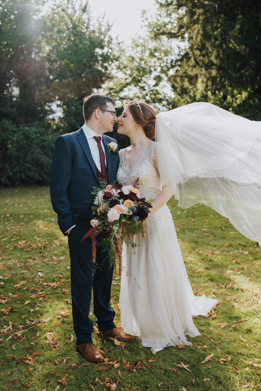 Mark & Philippa's joyful Holmewood Hall wedding, with Grace Elizabeth (32)