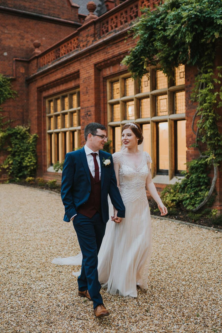 Mark & Philippa's joyful Holmewood Hall wedding, with Grace Elizabeth (43)