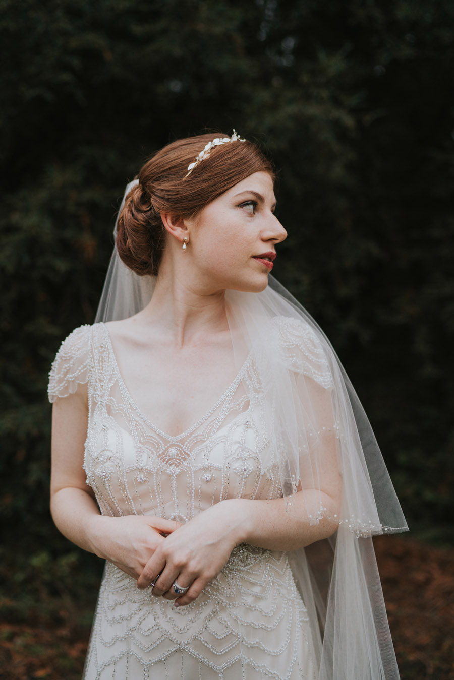 Mark & Philippa's joyful Holmewood Hall wedding, with Grace Elizabeth (45)
