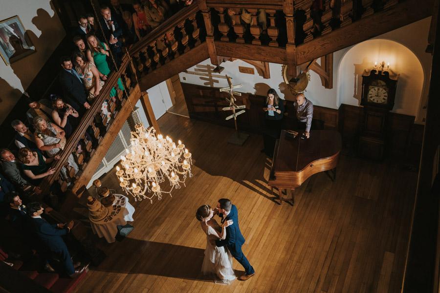 Mark & Philippa's joyful Holmewood Hall wedding, with Grace Elizabeth (46)