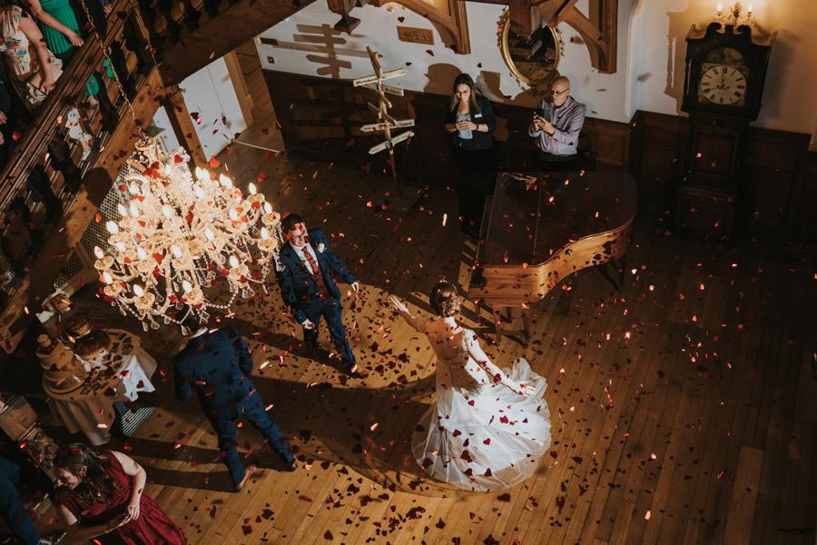 Mark & Philippa's joyful Holmewood Hall wedding, with Grace Elizabeth (48)