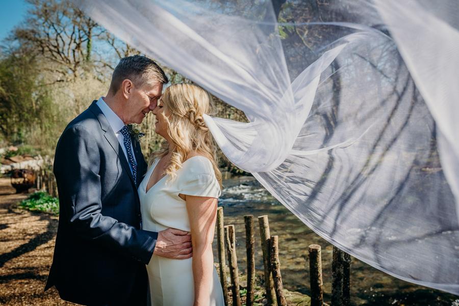 Pippa & David's joyful spring elopement in Dartmoor, photo credit Clare Kinchin (11)