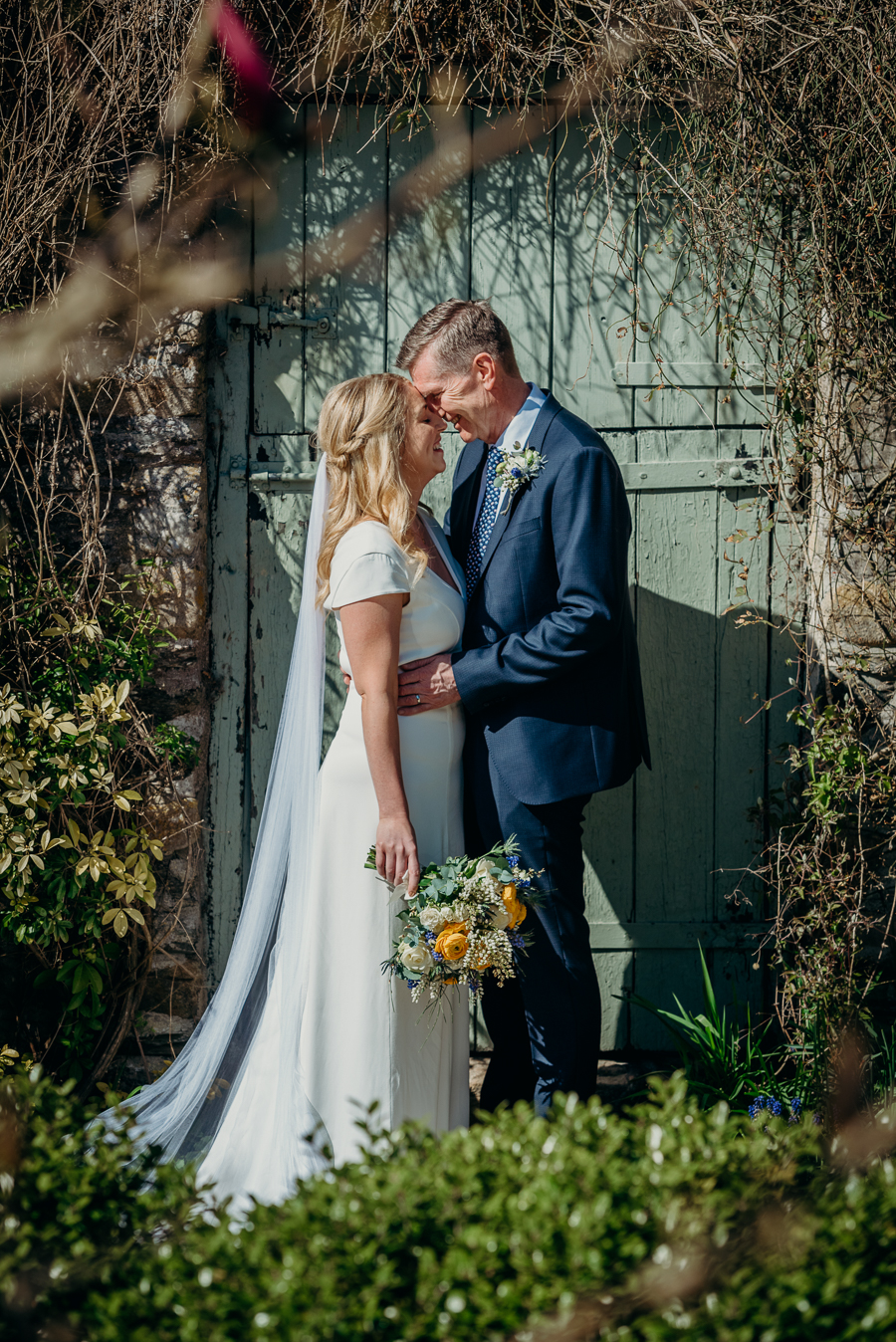 Pippa & David's joyful spring elopement in Dartmoor, photo credit Clare Kinchin (9)