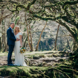 Pippa & David's joyful spring elopement in Devon, with Clare Kinchin Photography