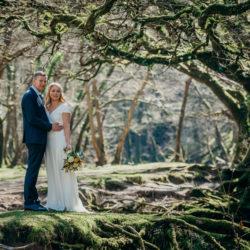 Pippa & David's joyful spring elopement in Devon, with Clare Kinchin Photography