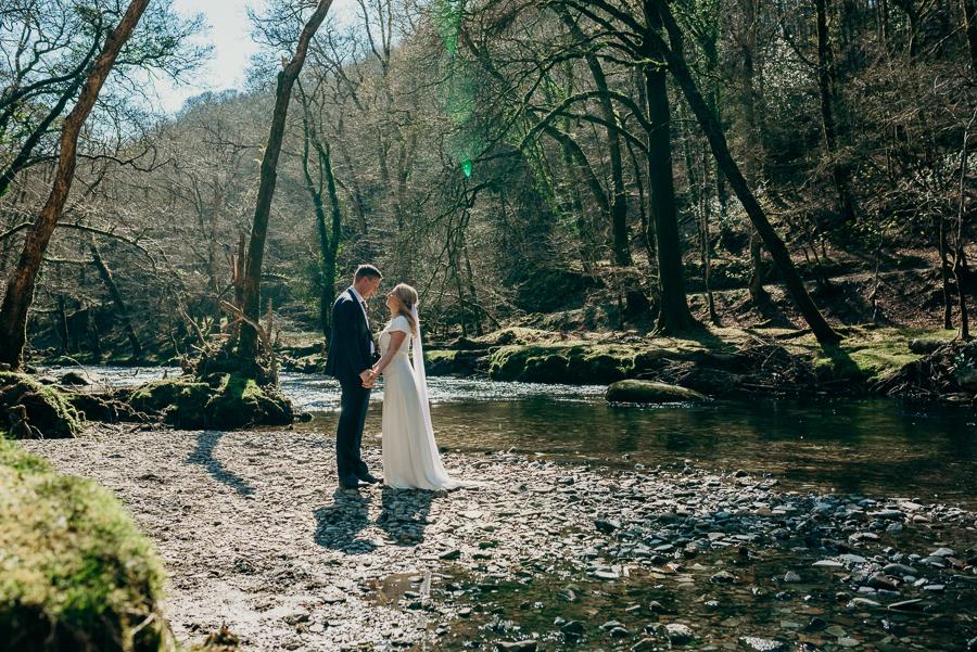 Pippa & David's joyful spring elopement in Dartmoor, photo credit Clare Kinchin (5)