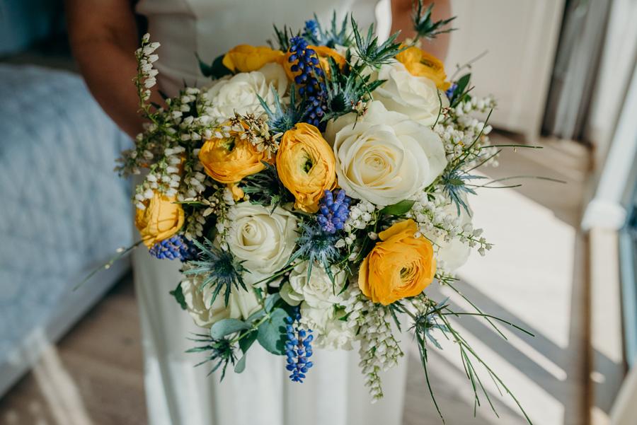 Pippa & David's joyful spring elopement in Dartmoor, photo credit Clare Kinchin (34)