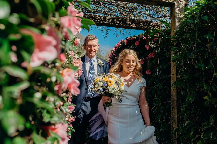 Pippa & David's joyful spring elopement in Dartmoor, photo credit Clare Kinchin (26)