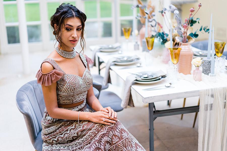 Ivory Events Stapleford Park wedding styled shoot (14)