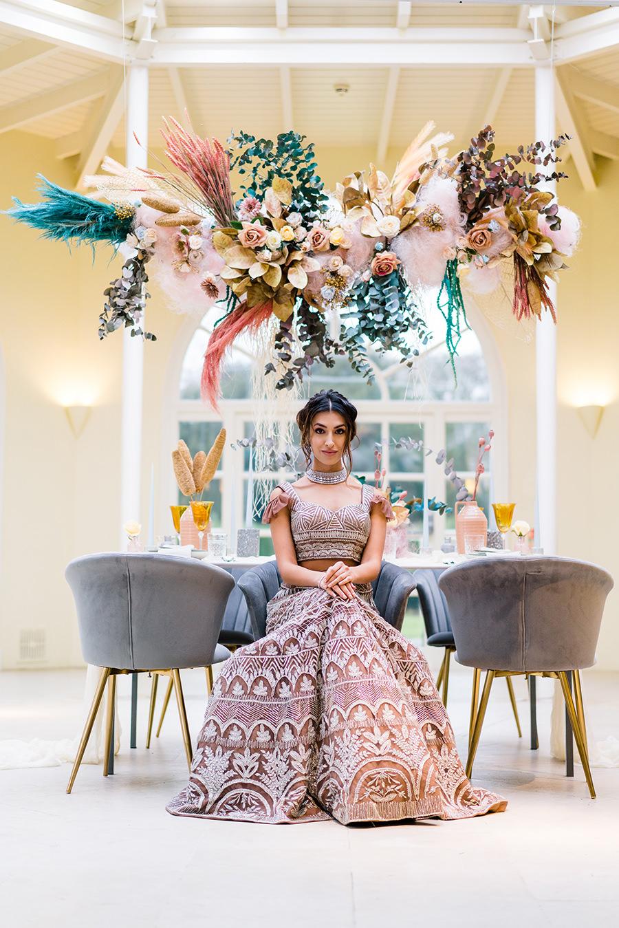 Ivory Events Stapleford Park wedding styled shoot (17)