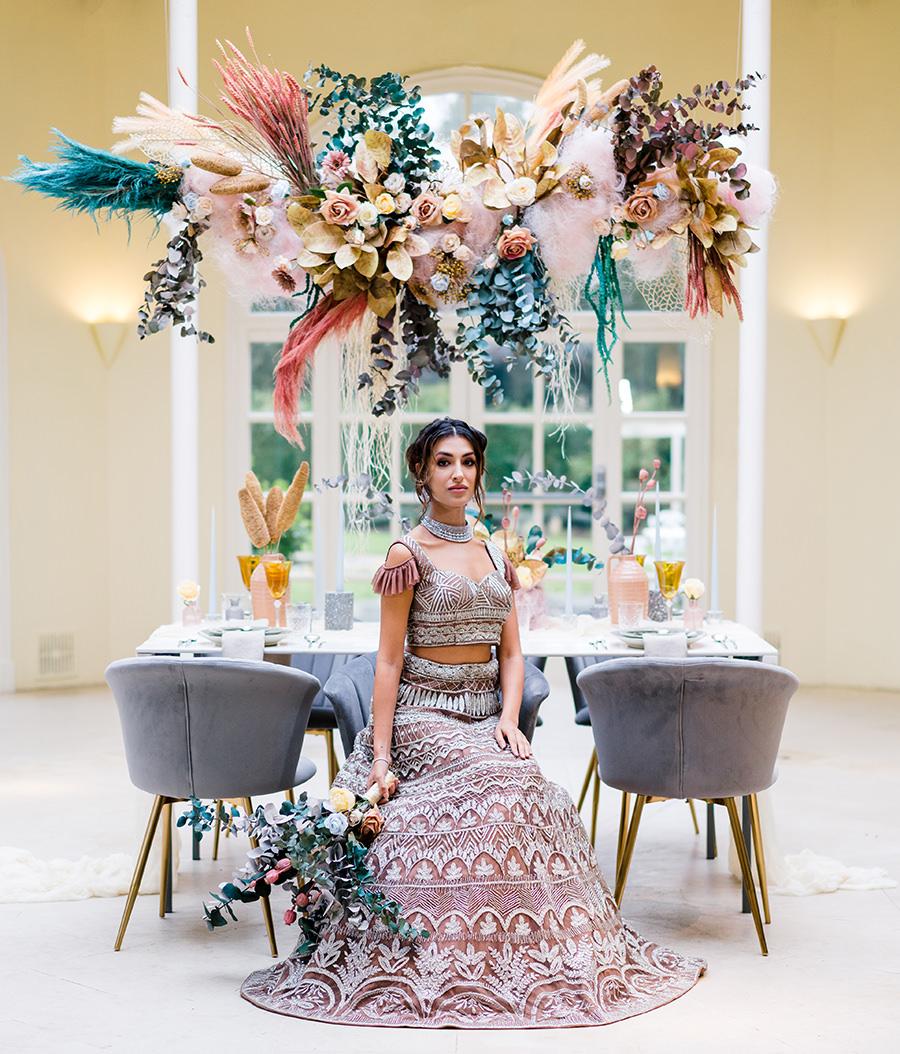 Ivory Events Stapleford Park wedding styled shoot (18)