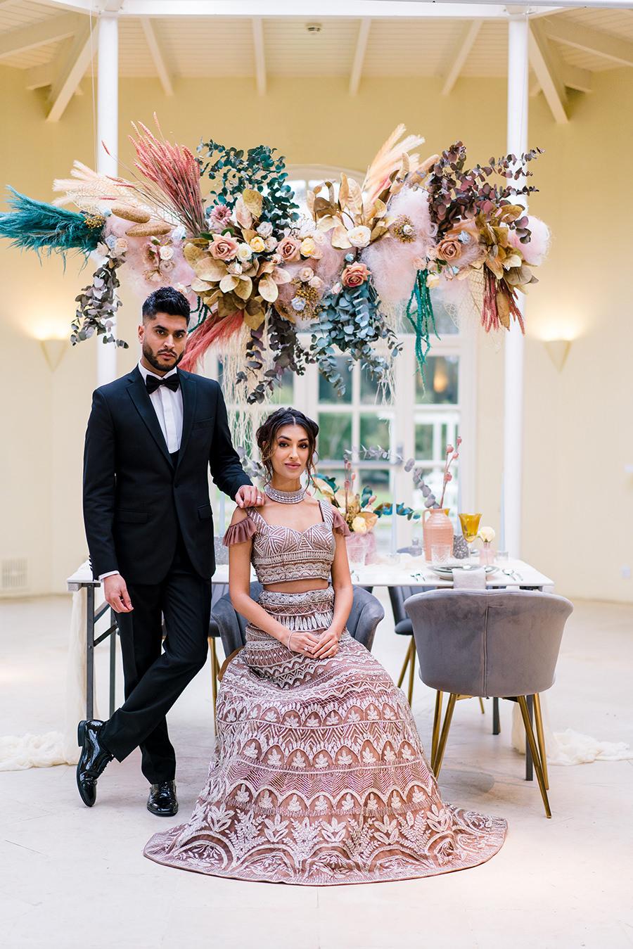 Ivory Events Stapleford Park wedding styled shoot (21)