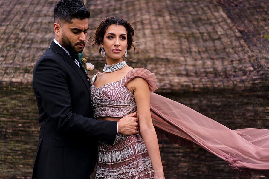 Ivory Events Stapleford Park wedding styled shoot (37)