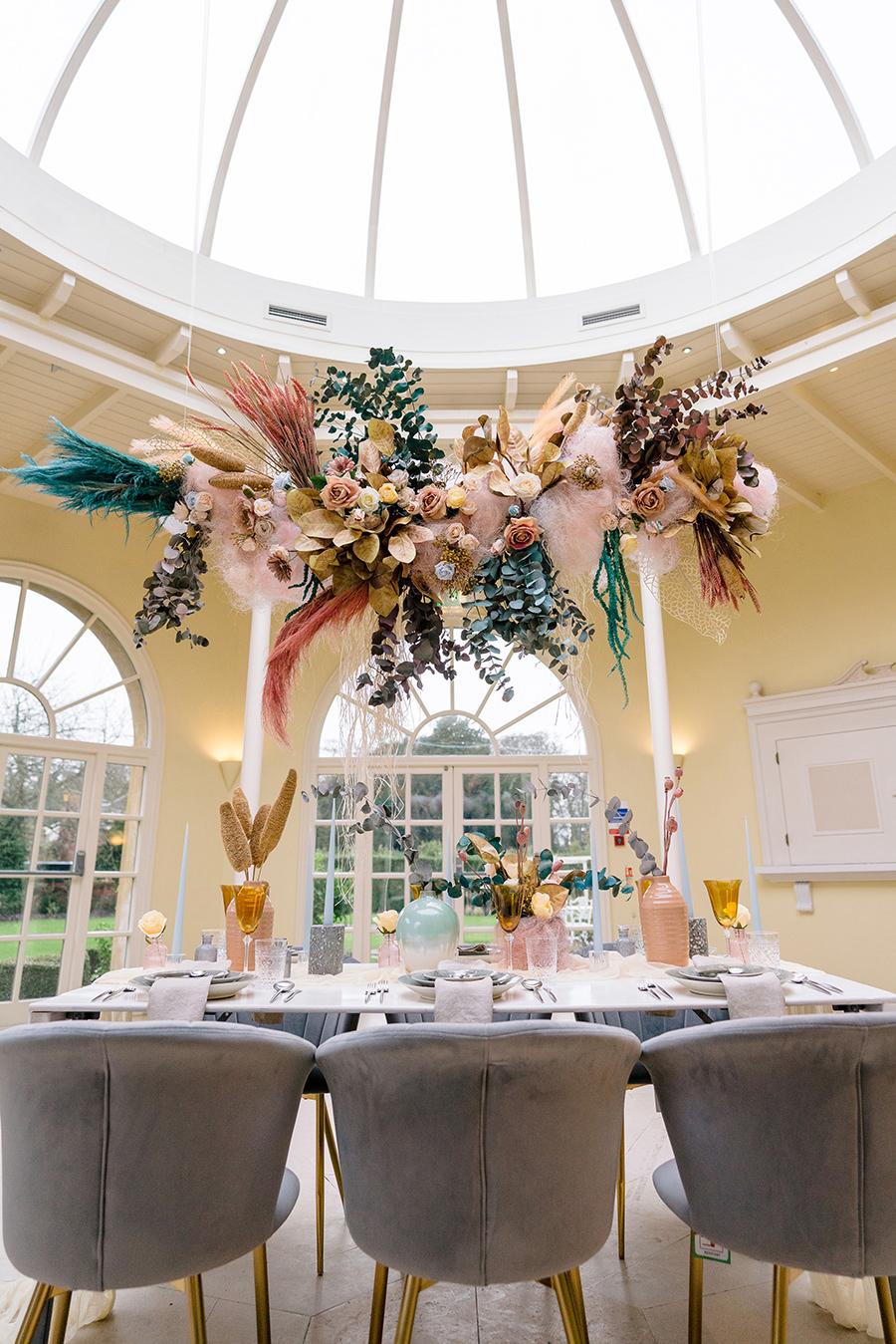 Ivory Events Stapleford Park wedding styled shoot (10)