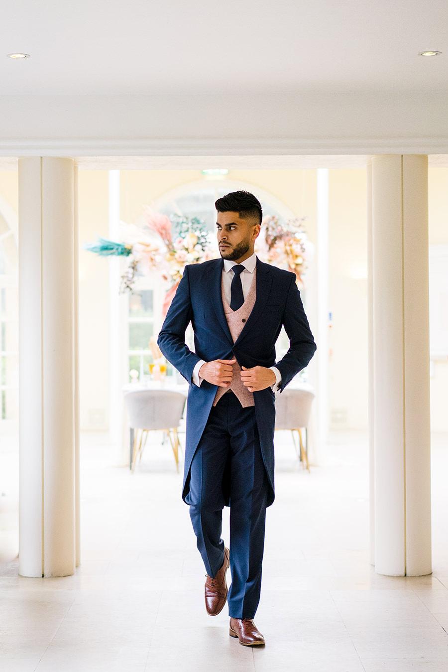 Ivory Events Stapleford Park wedding styled shoot (11)