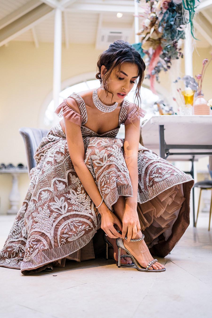 Ivory Events Stapleford Park wedding styled shoot (12)