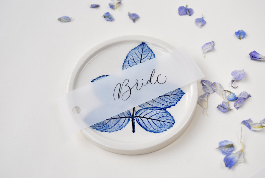 Calligraphy for weddings in the UK, Claire Gould calligrapher By Moon and Tide (6)