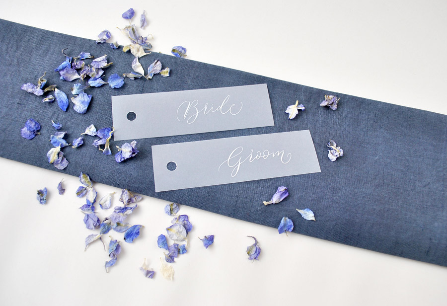 Calligraphy for weddings in the UK, Claire Gould calligrapher By Moon and Tide (4)