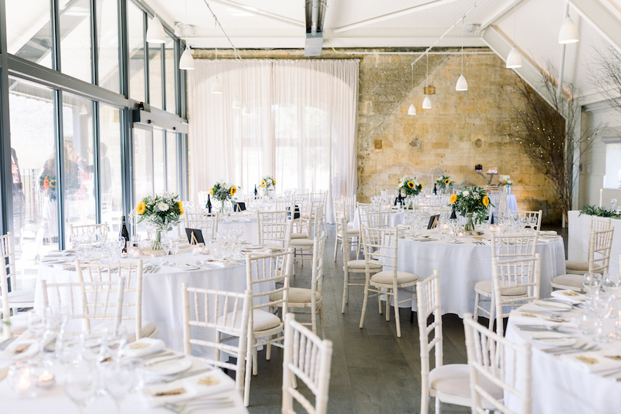 Louisa & Will's light and airy sunflower wedding at Lapstone Barn, with Hannah K Photography (22)