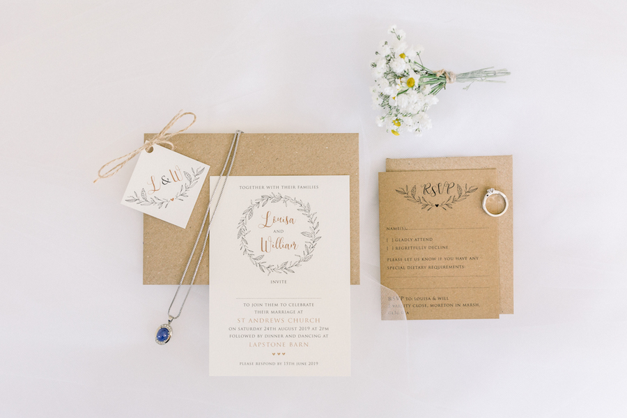 Louisa & Will's light and airy sunflower wedding at Lapstone Barn, with Hannah K Photography (1)
