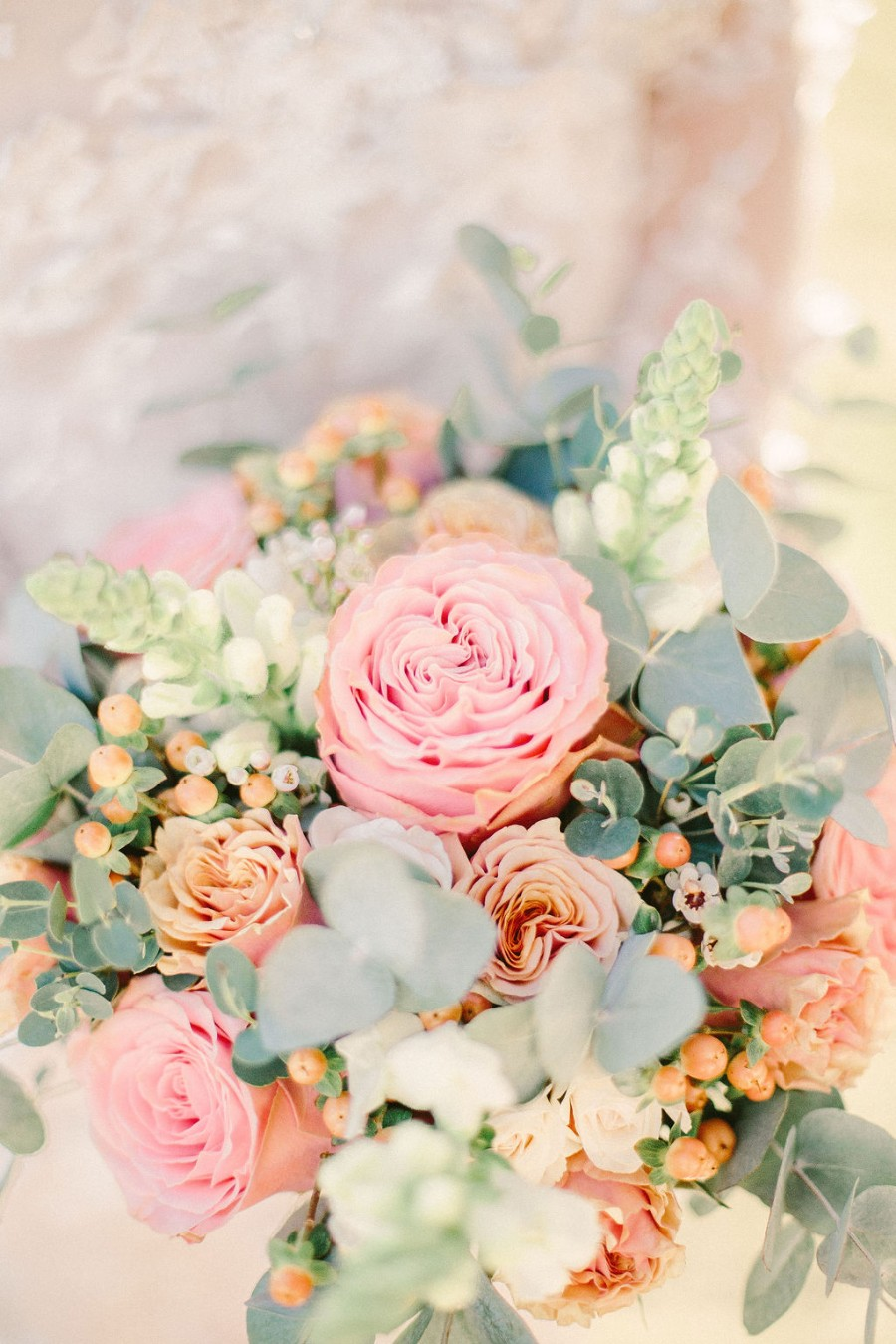 Coral and blue for a colour pop wedding style! Credit Tabitha Stark Photography via English Wedding Blog (20)