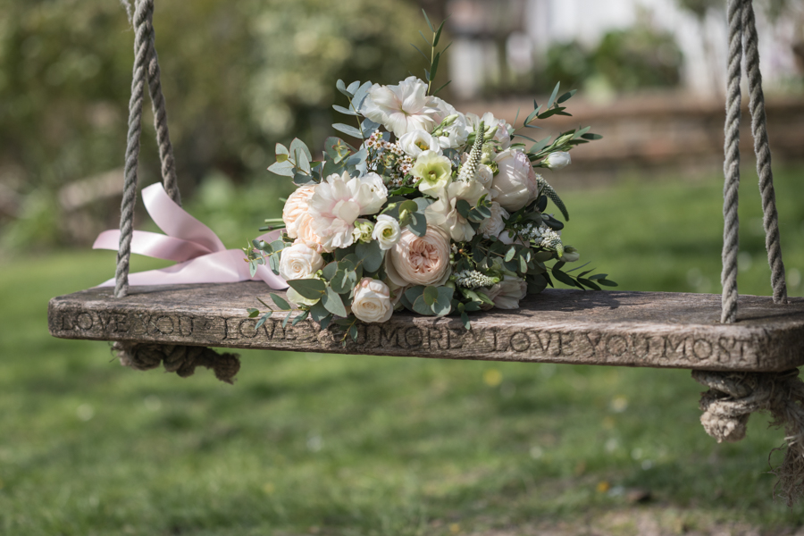 Quintessentially beautiful English wedding style with blush florals (5)