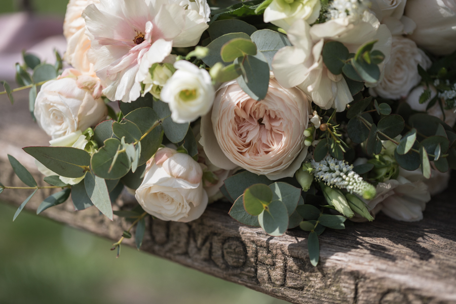 Quintessentially beautiful English wedding style with blush florals (6)
