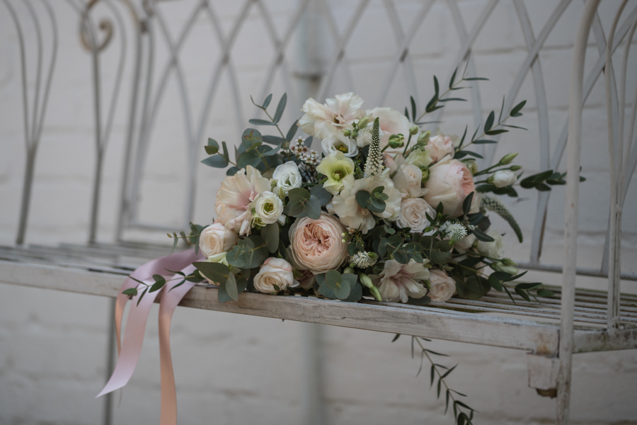 Quintessentially beautiful English wedding style with blush florals (8)