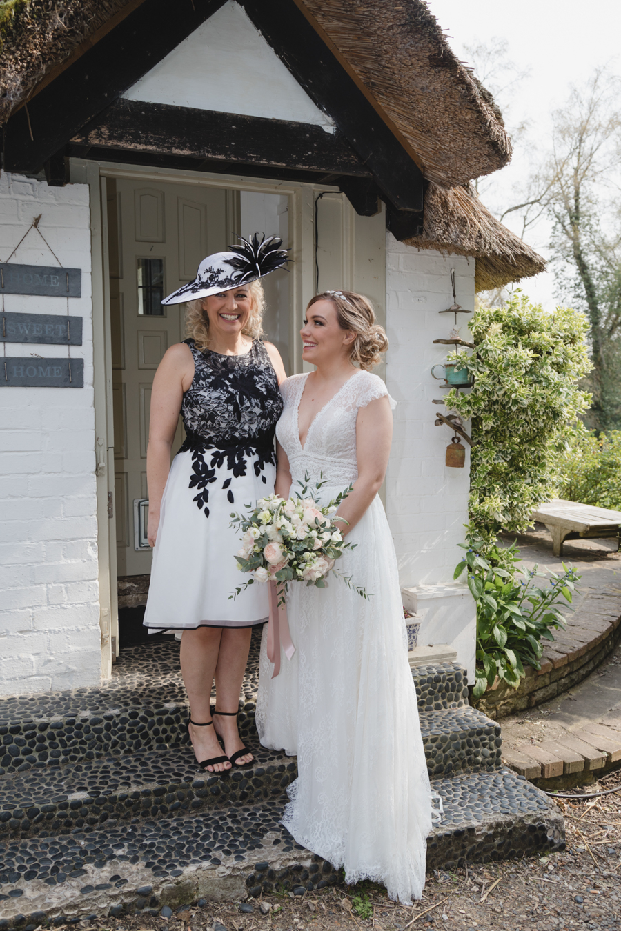 Quintessentially beautiful English wedding style with blush florals (12)