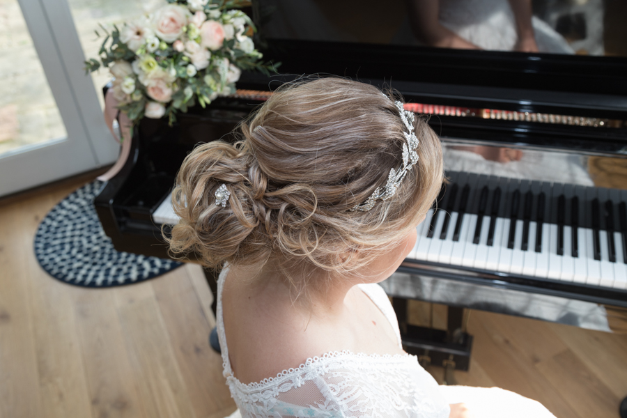 Quintessentially beautiful English wedding style with blush florals (13)