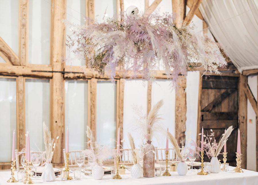 Rustic and Blush Barn Style with oodles of countryside charm (8)