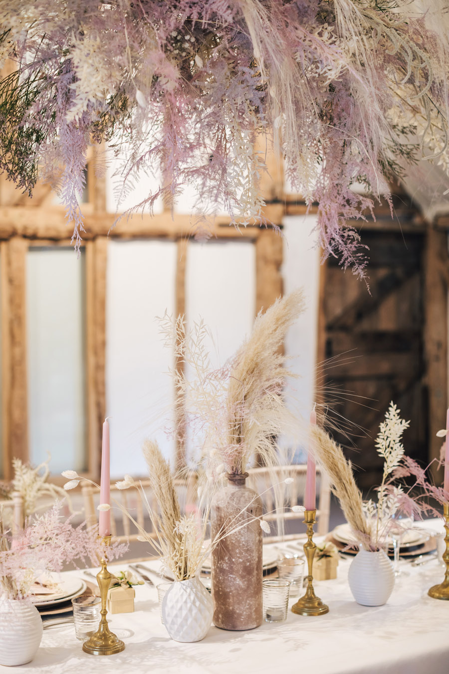 Rustic and Blush Barn Style with oodles of countryside charm (12)