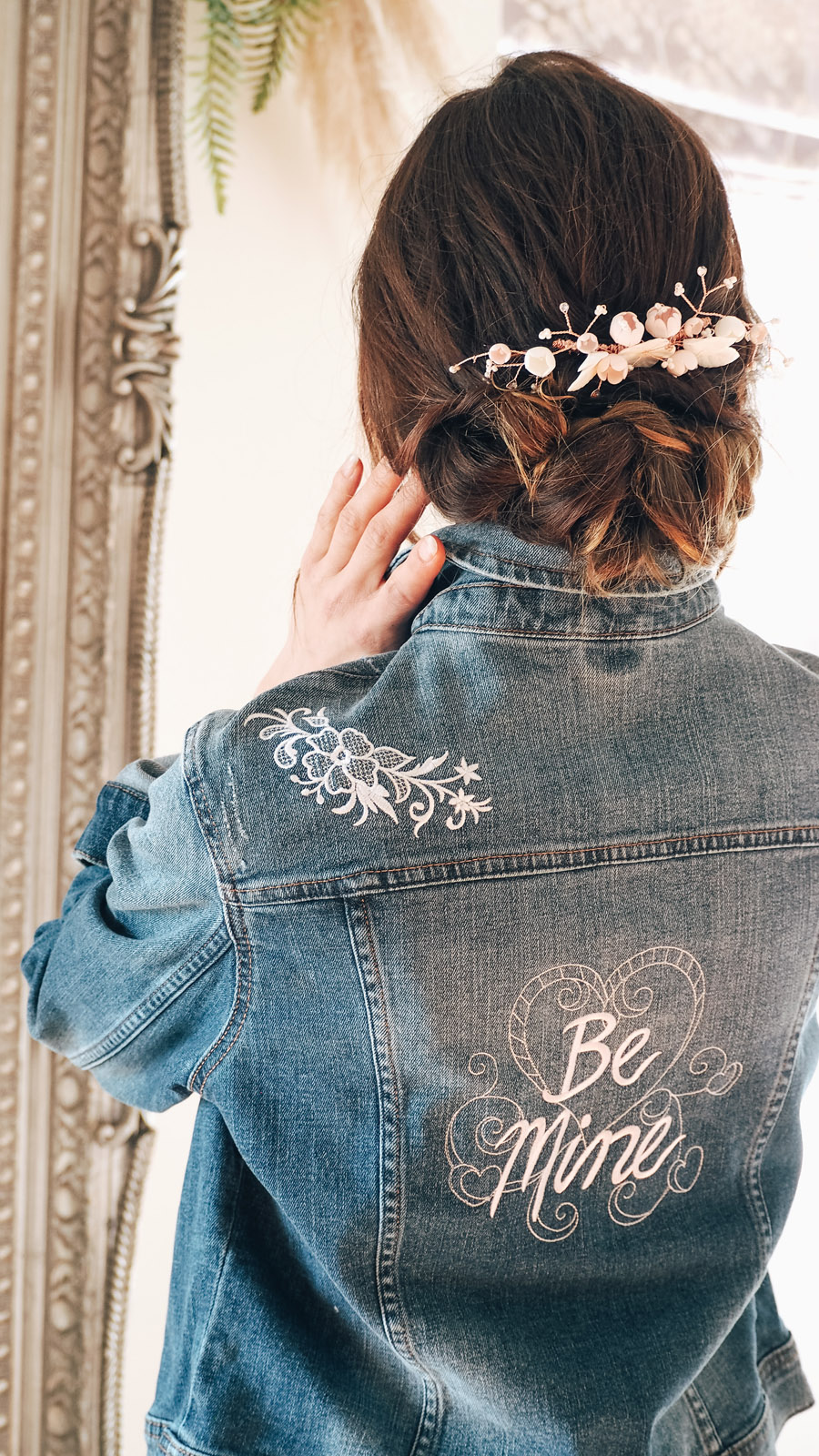 Your names on your veil, denim jacket or boots! With Bridal Indulgence (7)