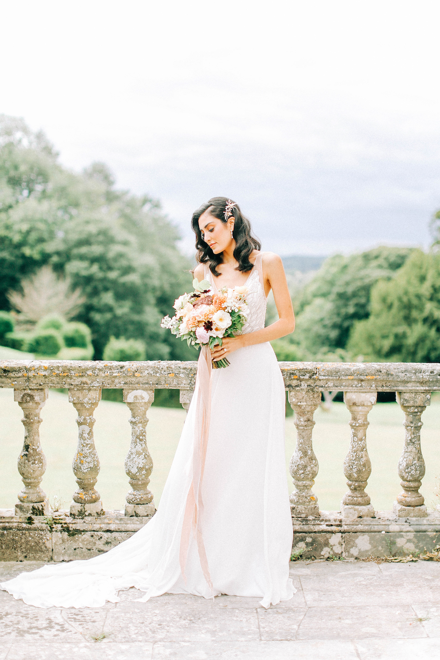 Romantic, French inspired wedding inspiration with masterful florals (1)