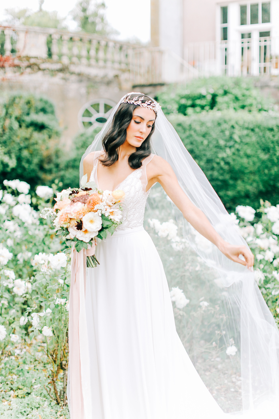 Romantic, French inspired wedding inspiration with masterful florals (8)