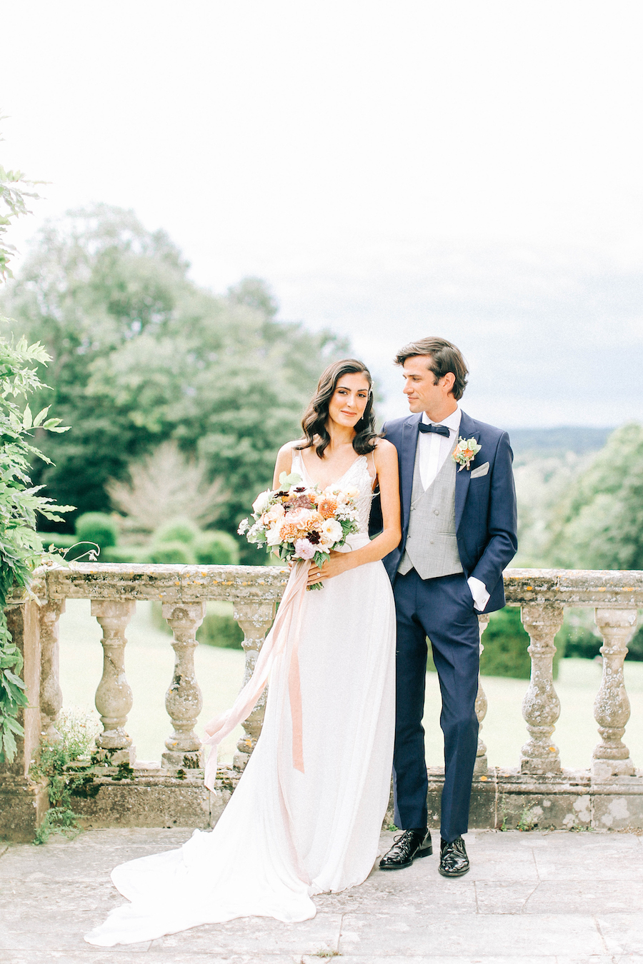 Romantic, French inspired wedding inspiration with masterful florals (2)