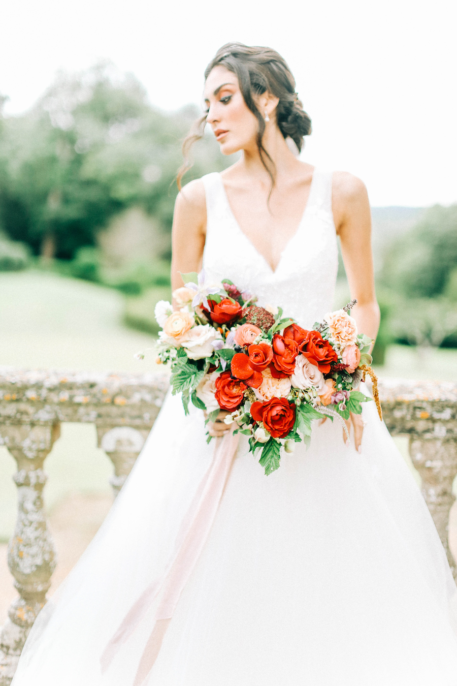 Romantic, French inspired wedding inspiration with masterful florals (35)