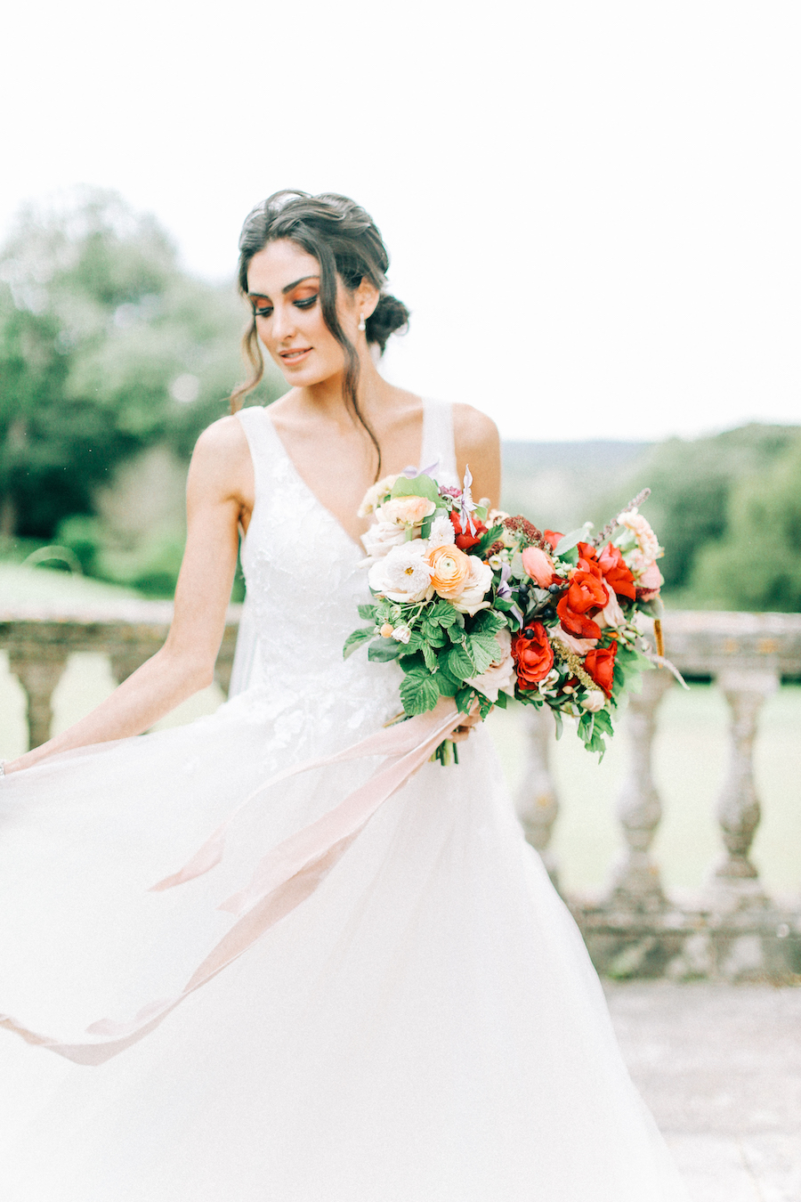 Romantic, French inspired wedding inspiration with masterful florals (36)