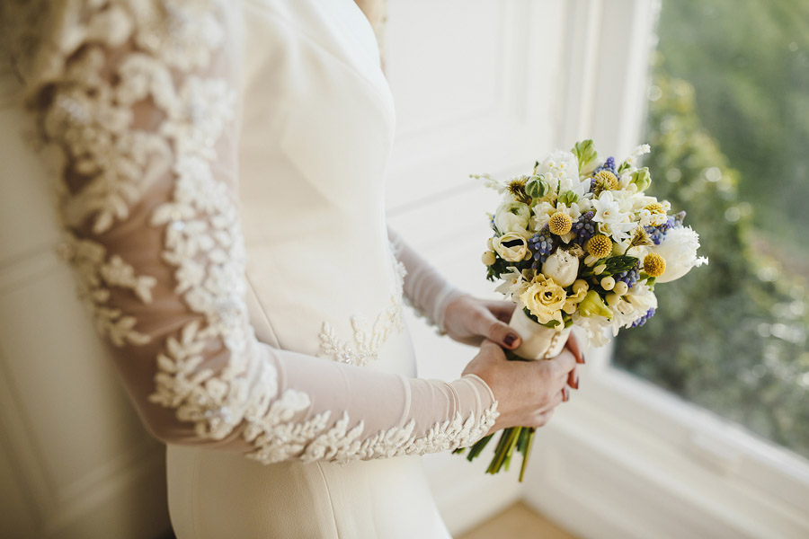 Glorious winter to spring wedding style at Hooton Pagnell, image credit Crayden Wedding Photography (4)