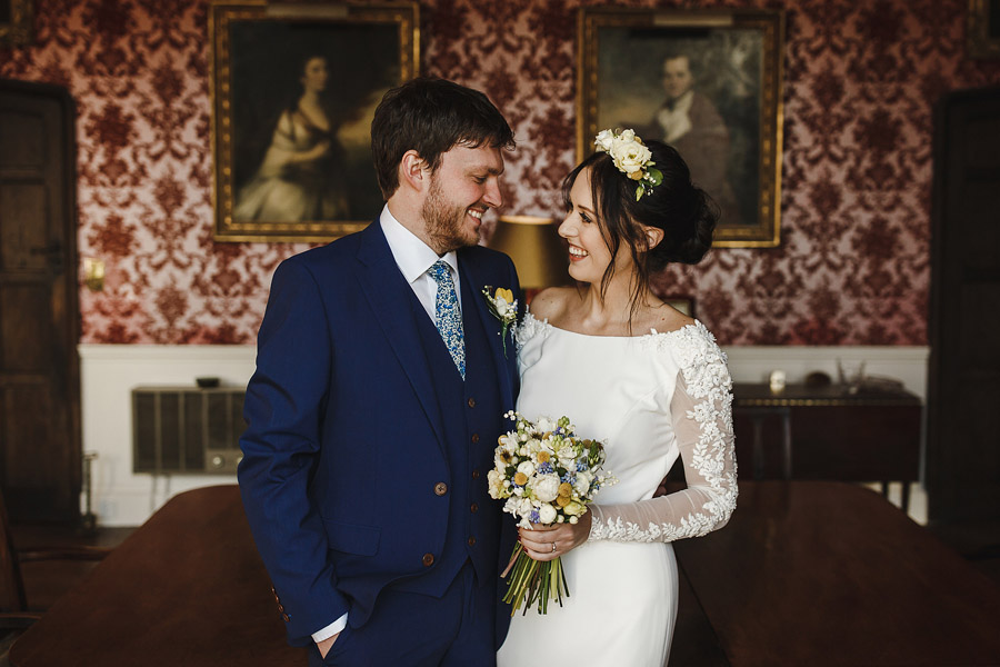 Glorious winter to spring wedding style at Hooton Pagnell, image credit Crayden Wedding Photography (8)