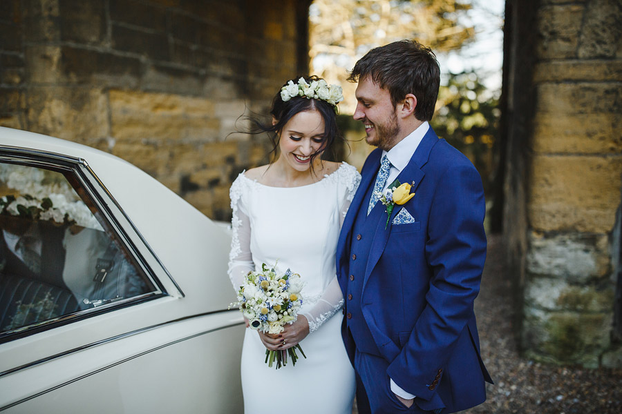 Glorious winter to spring wedding style at Hooton Pagnell, image credit Crayden Wedding Photography (11)