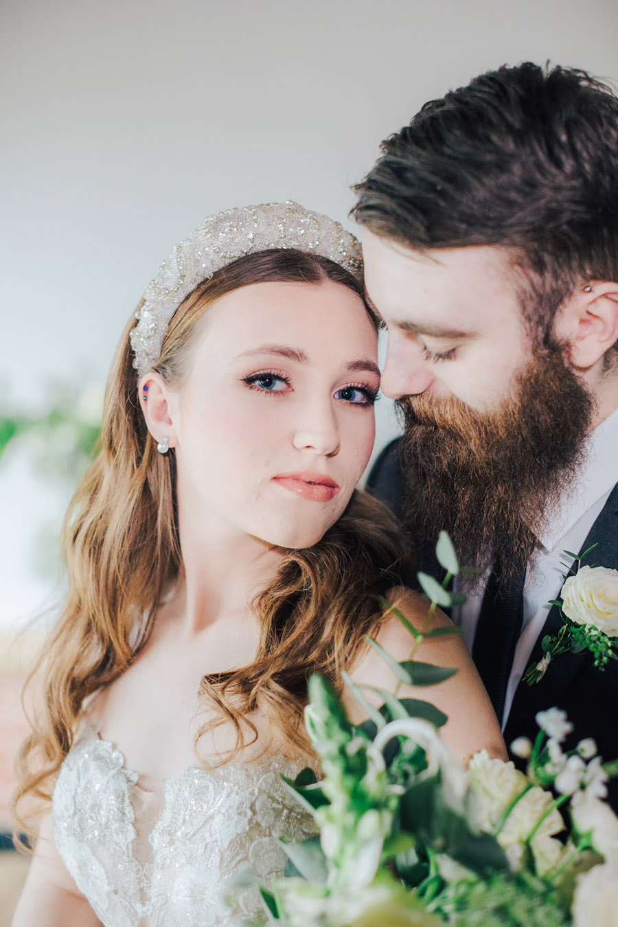 A fairytale of soft tones, for a beautiful wedding look from Sissons Barn (31)