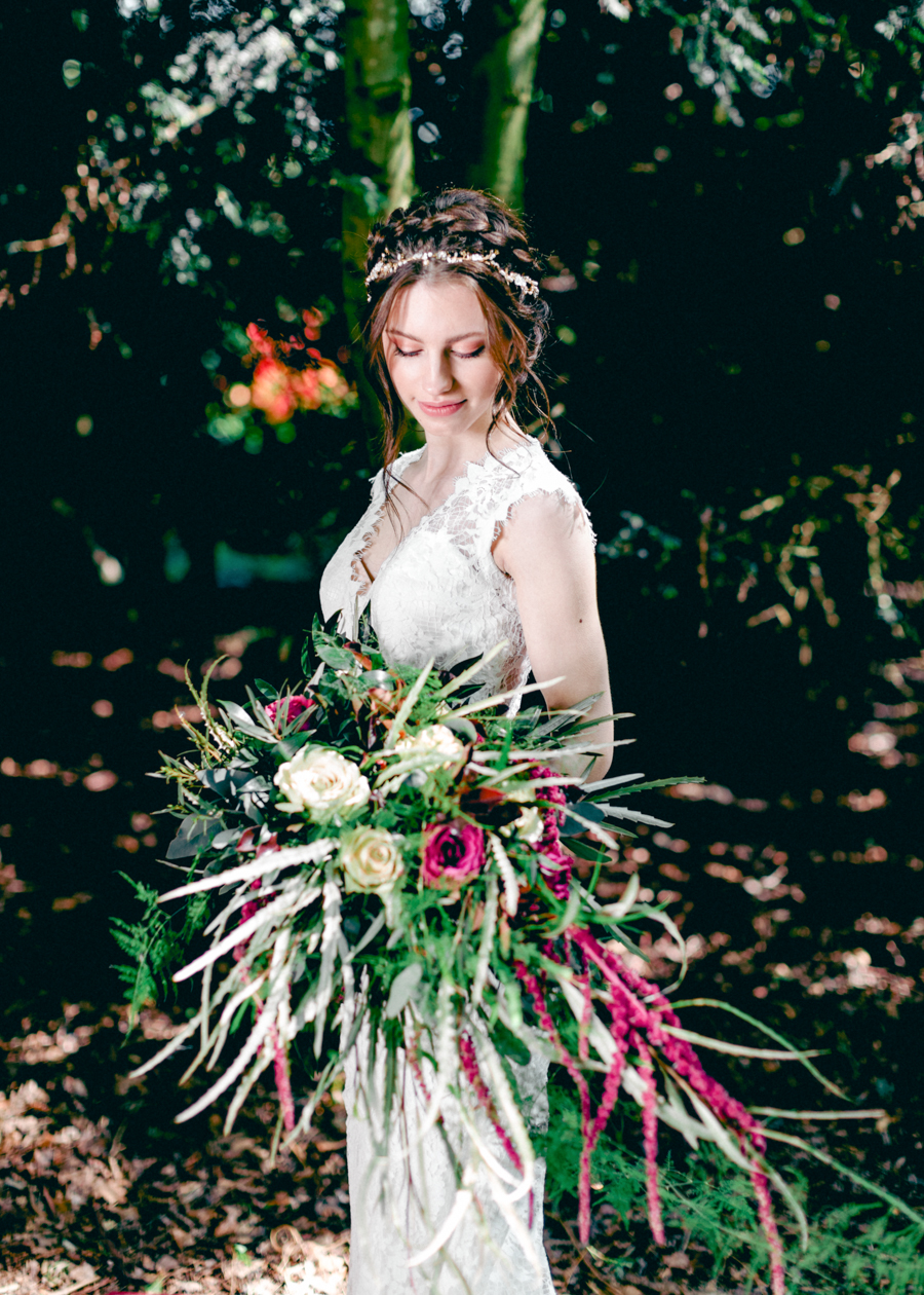 Styled boho woodland shoot in Essex, image credit Hayley Jane Photography (34)
