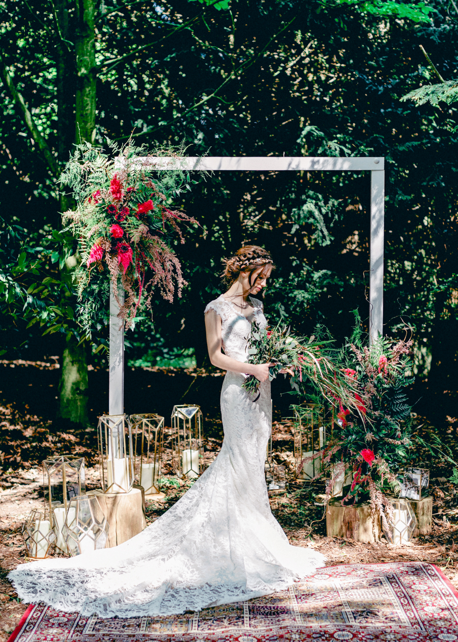 Styled boho woodland shoot in Essex, image credit Hayley Jane Photography (33)
